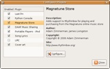 Screenshot-Configure Plugins